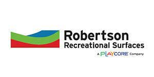 robertson recreational surfaces logo