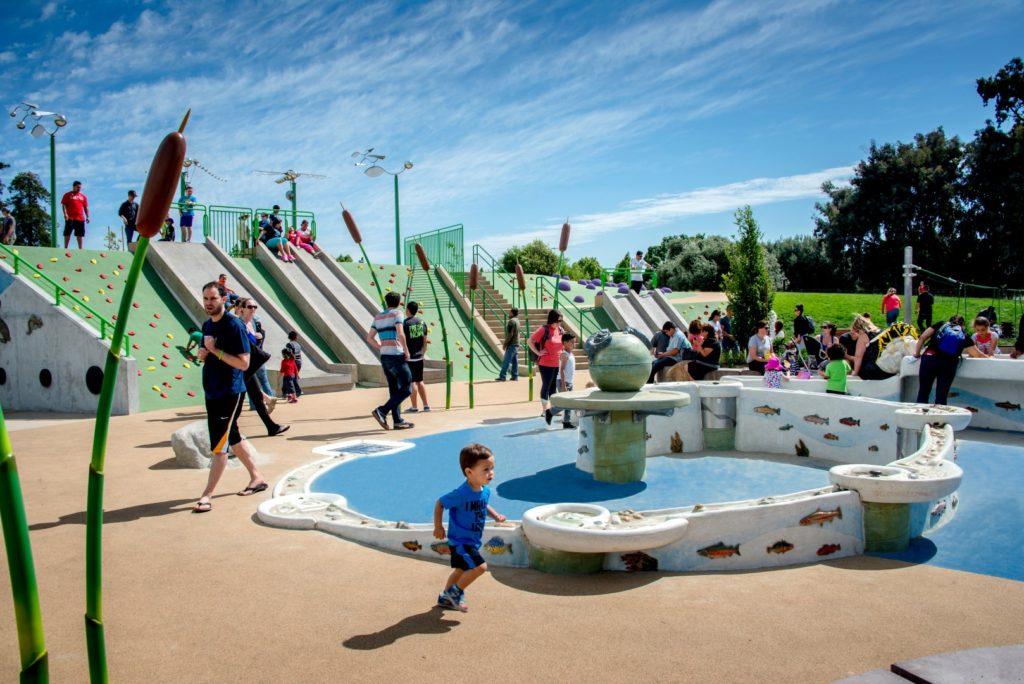Rotary Playground. Guadalupe River Parkway. San Jose.